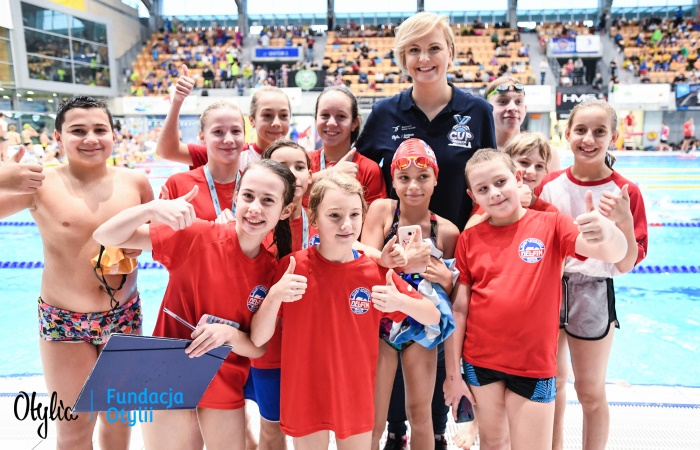Otylia Jędrzejczak Swim Cup De Care Livity